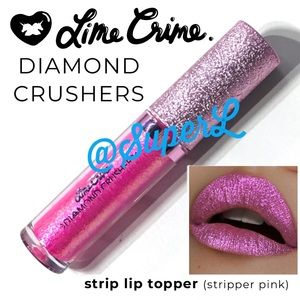 3/$15 Lime Crime Diamond Crushers Strip Lipstick